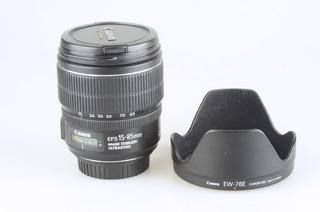 95新 佳能 EF-S 15-85mm f/3.5-5.6 IS USM