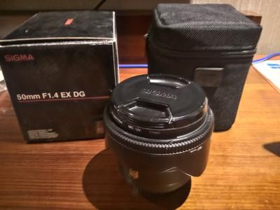 适马 50mm f/1.4 EX DG HSM(佳能卡口)