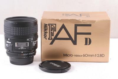 95/尼康 AF Micro 60mm f/2.8D微距镜头( 带包装 )