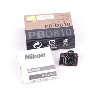 尼康 D810造型胸针 黑色PB-810配饰带包装#jp18785