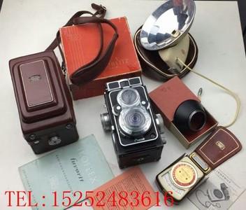IKOFLEX FAVORIT IIC 蔡司依康 最末期 双反相机 收藏佳品