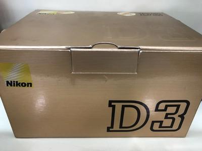 尼康 D3 成色很新 个人使用 包装全套都在