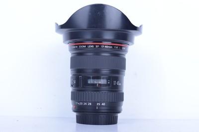 94新二手 Canon佳能 17-40/4 L USM 广角镜头(B1693)【京】