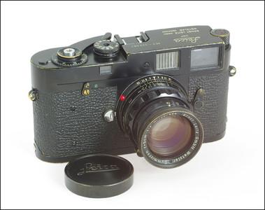 原版黑漆 徕卡 Leica M2 + 50/2 Black Paint Rigid 套机