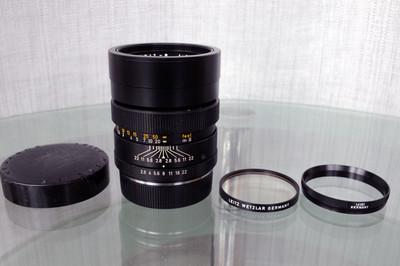 Leica ELMARIT R 90 2.8 德产 小头九,带原厂UV镜组!