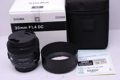 适马 AF 30/1.4 30 mm F1.4 DC ART 适马30/1.4 尼康口 带包装