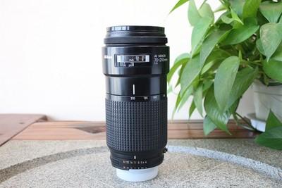 92新二手 Nikon尼康 70-210/4 变焦镜头(W11395)【武】可置换