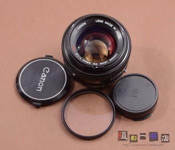 CANON 佳能 FD 55/1.2 SSC 55mm F1.2 二手 手动镜头