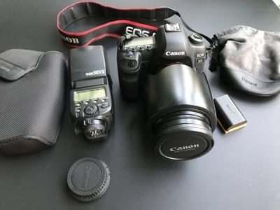 佳能 5D Mark II + EF24-70/2.8 + 580EX ii 套出