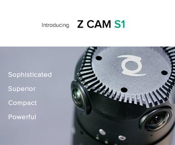 【全新】 VR 全景相机 Z CAM S1