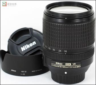 尼康 Nikkor 18-140mm f/3.5-5.6G ED VR 镜头