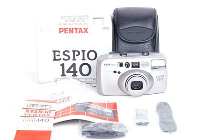 库存品宾得 ESPIO 140 10056 银色带包装 #jp17558