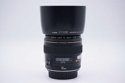 98新佳能 EF 85mm f/1.8 USM 85/1.8 2400