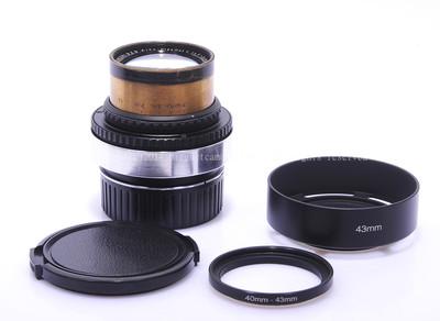 雨果·迈耶吉纳Plasmat 50/1.5  已改M口 电影镜头 #HK5512