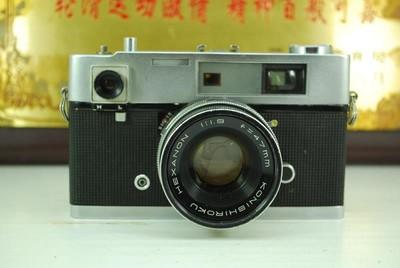 柯尼卡 Auto S 135胶卷机械单反相机 胶片机 收藏模型