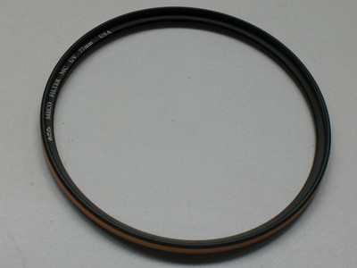 成色极好 原装正品 美高MECO 77mm MC UV USA 金圈多层镀膜UV
