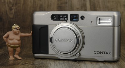 Contax 康泰时 TVS 高档 便携 变焦 胶片机