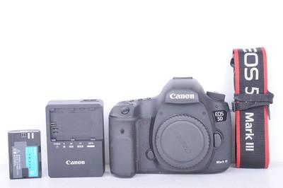 94新二手 Canon佳能 5D3 单机 高端单反 无敌三(B1504)【京】