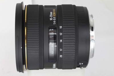 适马 10-20/4.0-5.6 EX DC HSM(佳能卡口)(NO:6070)