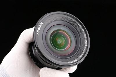 老蛙 LW-FX 15mmF4.0 WIDE MACRO 1:1 超广角微距镜头(佳能口)