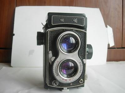 很新峨眉双反相机,有红点,收藏使用上品