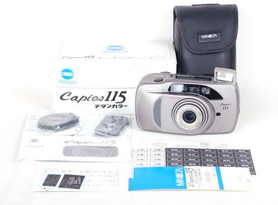 Minolta/美能达 capios 115 titan 钛色胶片相机 #jp17517