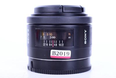 96新二手 Sony索尼 28/2.8 定焦镜头 索尼A口(B2019)【京】