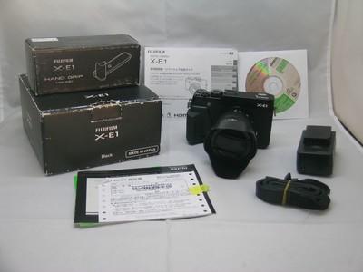 出售 98新 富士 X-E1带16-50加原装手抦 包装齐全 请看图片