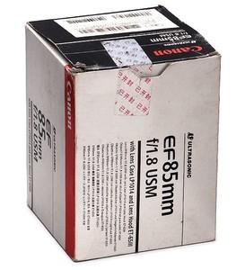 约98新 佳能 EF 85mm f/1.8 USM