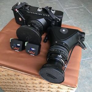 闲置林哈夫617s III,两镜头,包装配件齐全