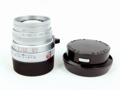 带包装的徕卡Leica Summicron-M50/2银色虎爪版