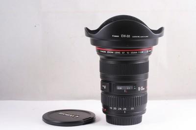 97/佳能 EF 16-35mm f/2.8L II USM 二代 ( 全套包装 ) 编号UX