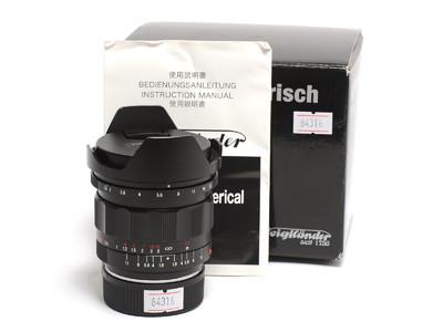 福伦达 Ultron 21mm F/1.8 ASPH. 镜头 徕卡M口镜头 *超美品连盒*