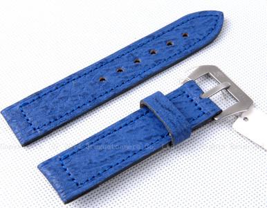 【罕见】全新 沛纳海 蓝色22mm鲨鱼皮PRE-V表带 配原厂表扣#90504