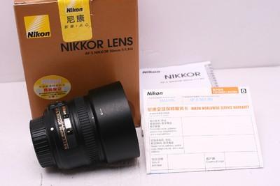 尼康 AF-S 50/1.8 G 尼康50/1.8G 尼康50/1.8 尼康 50/1.8 带包装