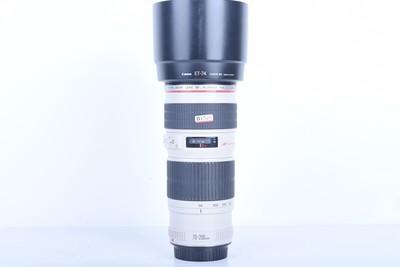 98新二手 Canon佳能 70-200/4 L USM(小小白)(B1526)【京】