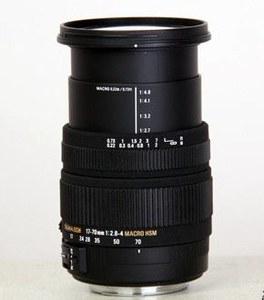 适马 17-70mm f/2.8-4 DC Macro OS HSM 尼康卡口