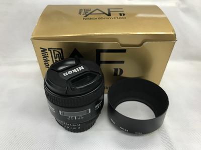 Nikon尼康 85/1.8D 人像定焦镜头带原包装遮光罩