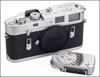 徕卡 Leica M4 银色 带测光表 刚保养过 功能完好 保修1年!