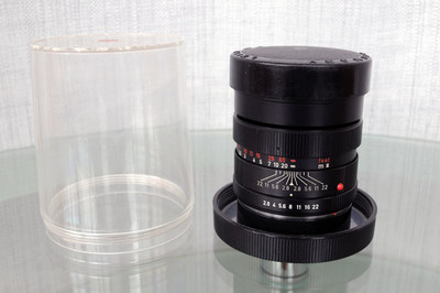 Leica ELMARIT R 90 2.8 德产 小头九,最早期红字版!