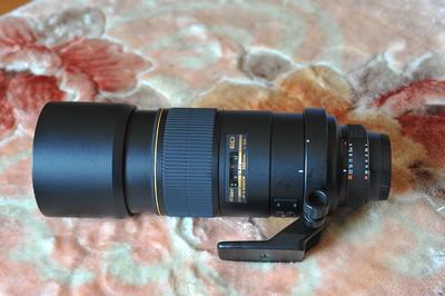 自用99新尼康AF-S 300mm/ f4 ED