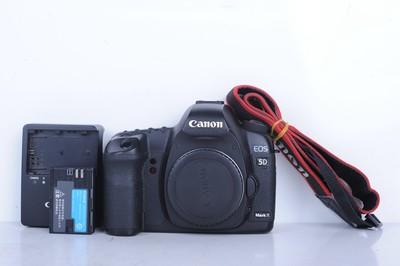 93新二手Canon佳能 5D2 单机 无敌兔 高端相机(B0720)【京】