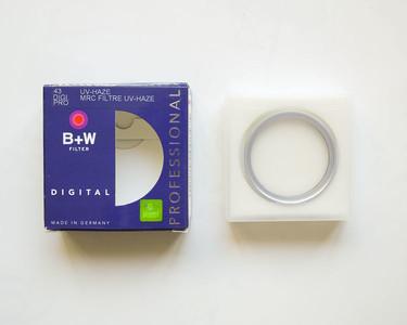 清仓特价 德国 B+W 43mm MRC UV 银色铜环 B+W银环UV B+W银圈