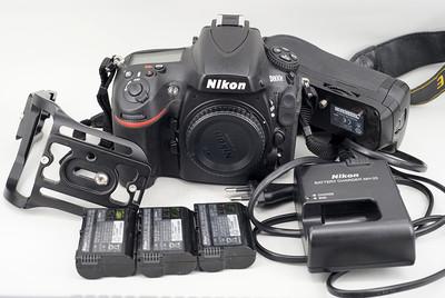 尼康D800E,手柄, 腾龙24-70/2.8 VC,适马50和35 art,80-200/2.8D