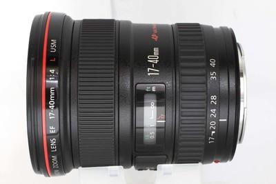 【全画幅广角变焦镜头】佳能 EF 17-40mm f/4L USM(NO:4102)
