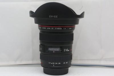 96新二手 Canon佳能 17-40/4 L USM 广角镜头(2140)【武】