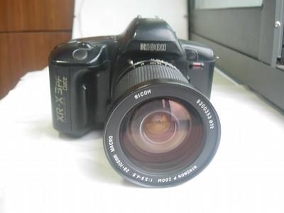 较新少见理光XR3PFD自带TTL闪灯经典相机带28--105mm镜头