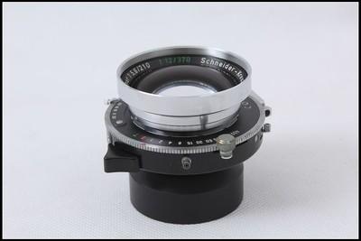 施耐德210/5.6 370/12 双焦大画幅座机镜头
