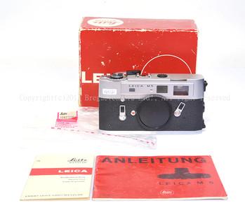 【美品】Leica/徕卡 M5 银色 包装齐全 #32084