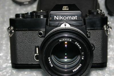 尼康 EL 相机配 50 1.4镜头